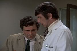 Peter Falk and Leonard Nimoy
